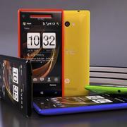 Kolekcja HTC Windows Phone 8X 3d model