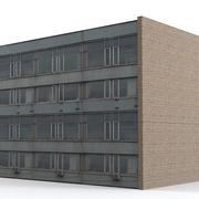 Industrie gebouw 3d model