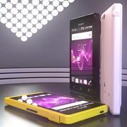 Kolekcja Sony Xperia Go 3d model