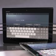 Sony Xperia Tablet S 3d model