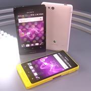 Kolekcja Sony Xperia Advance 3d model