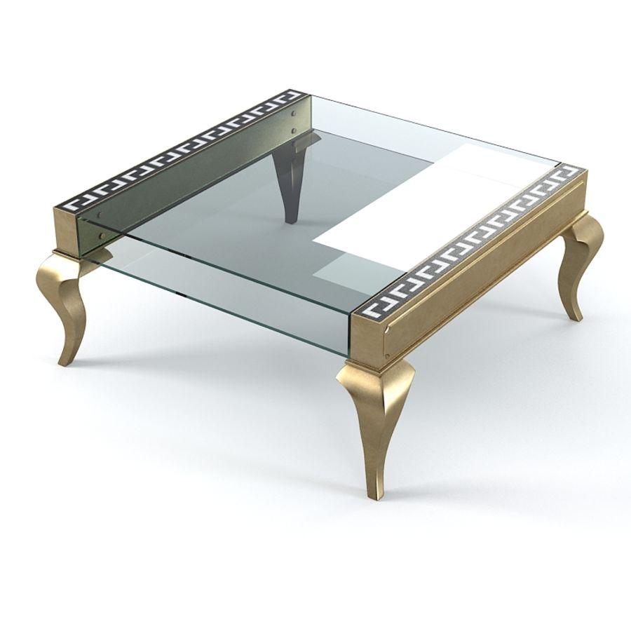 Selva 3747 Tzaar Стеклянный стол royalty-free 3d model - Preview no. 3