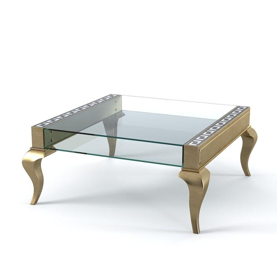 Selva 3747 Tzaar Стеклянный стол royalty-free 3d model - Preview no. 1