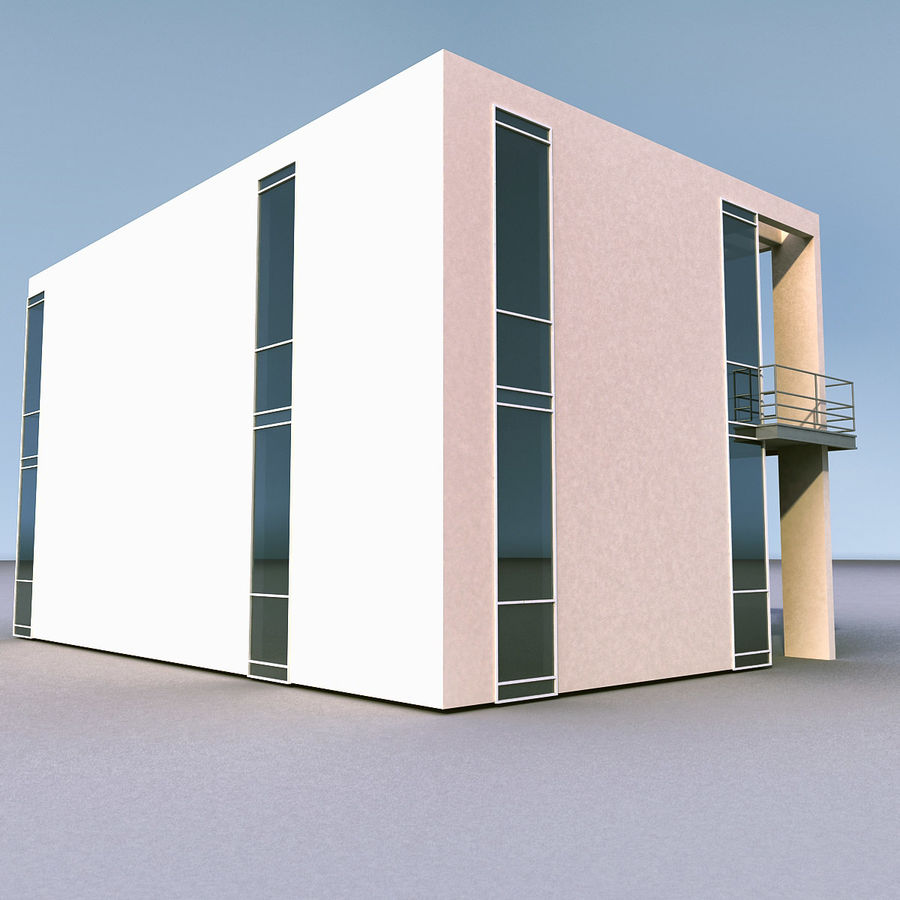 Residential 008 royalty-free 3d model - Preview no. 19