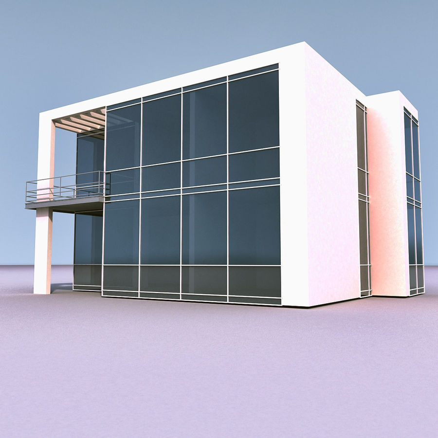 Residential 008 royalty-free 3d model - Preview no. 14