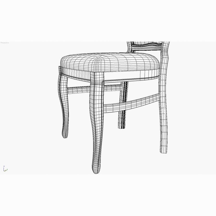 经典椅子 royalty-free 3d model - Preview no. 11