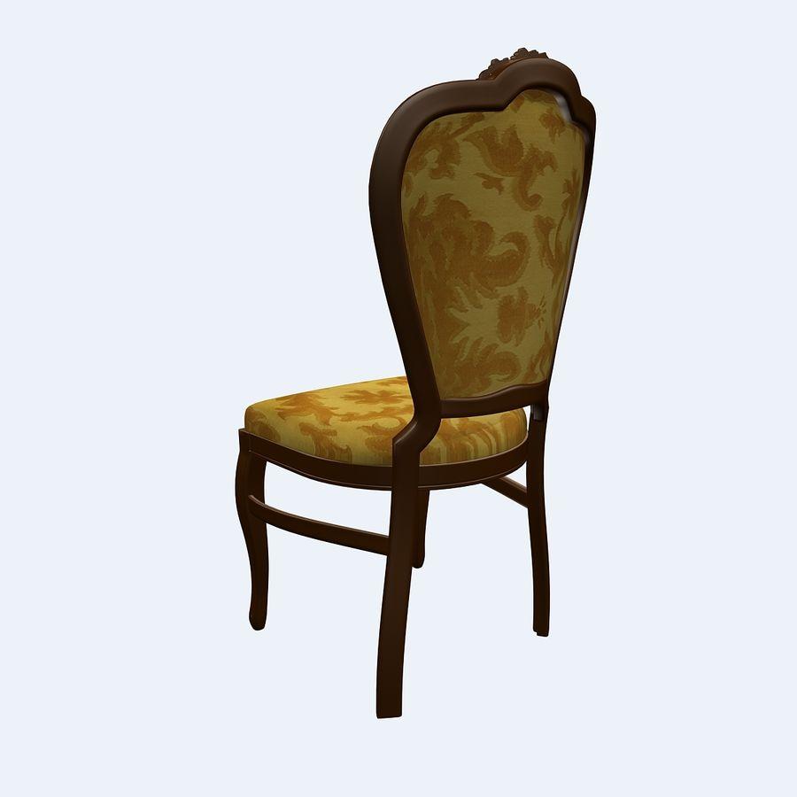 经典椅子 royalty-free 3d model - Preview no. 3