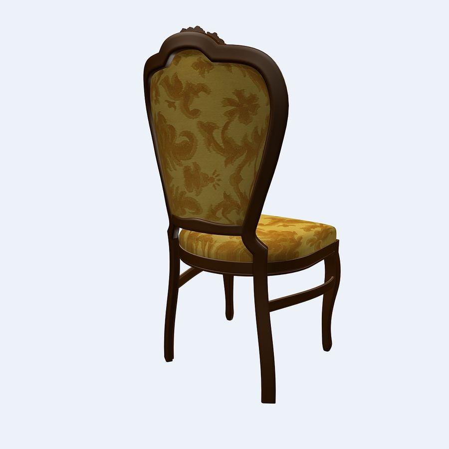 经典椅子 royalty-free 3d model - Preview no. 4