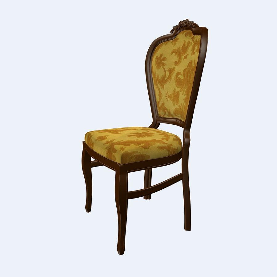 经典椅子 royalty-free 3d model - Preview no. 2