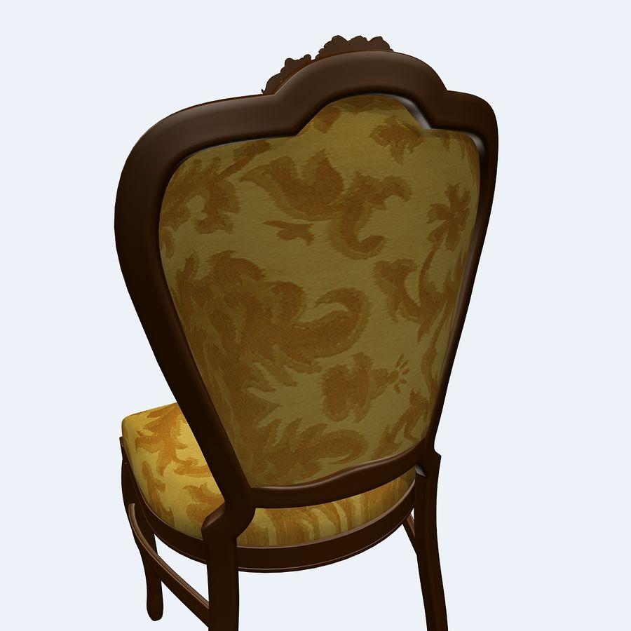 经典椅子 royalty-free 3d model - Preview no. 8