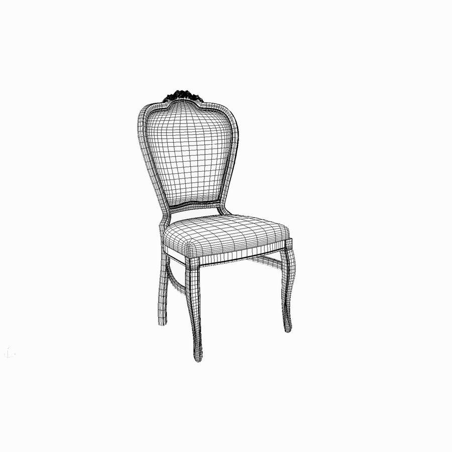 经典椅子 royalty-free 3d model - Preview no. 9