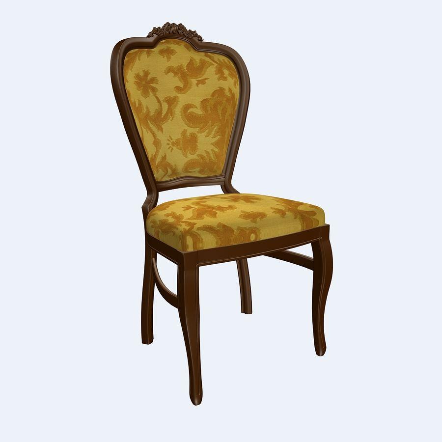 经典椅子 royalty-free 3d model - Preview no. 1