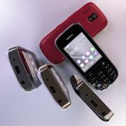 Kolekcja Nokia Asha 202 3d model