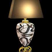 luminária, abajur 3d model
