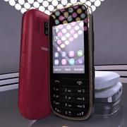 Kolekcja Nokia Asha 203 3d model
