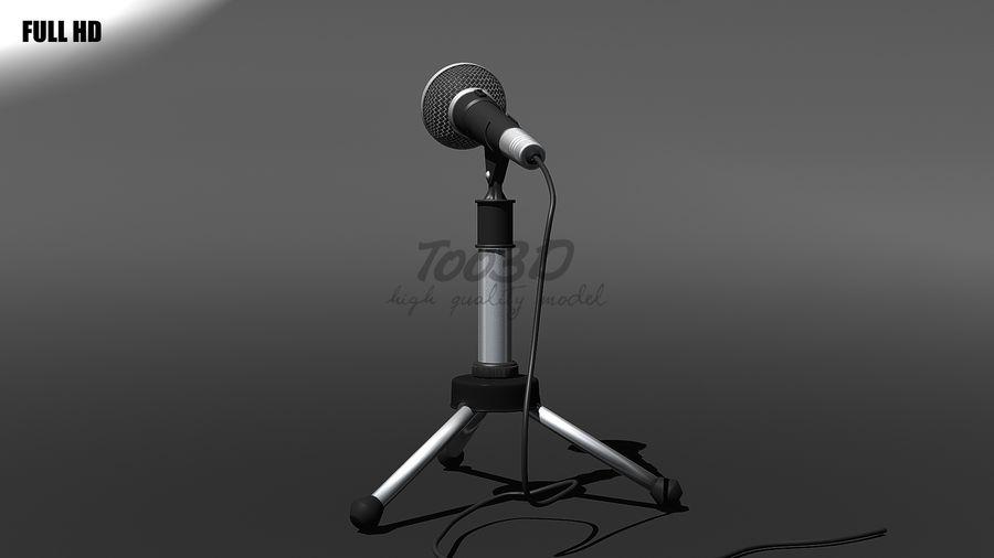 Mikrofon royalty-free 3d model - Preview no. 4