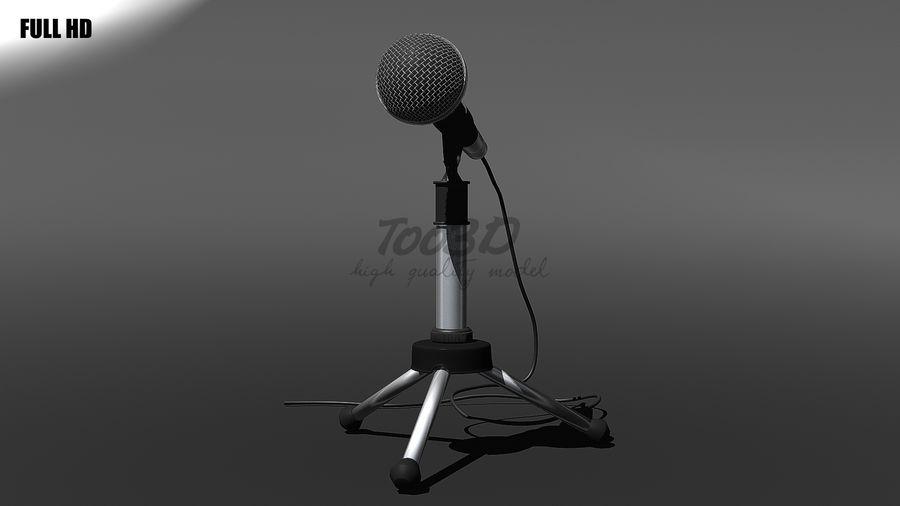 Mikrofon royalty-free 3d model - Preview no. 9
