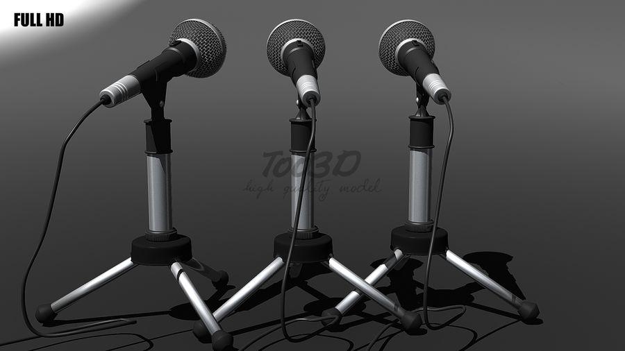 Mikrofon royalty-free 3d model - Preview no. 1