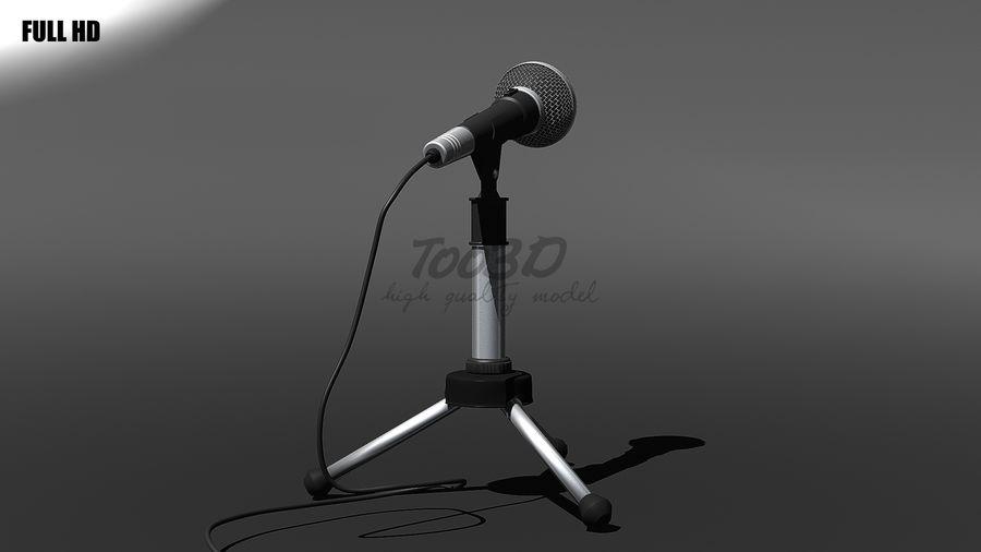 Mikrofon royalty-free 3d model - Preview no. 5