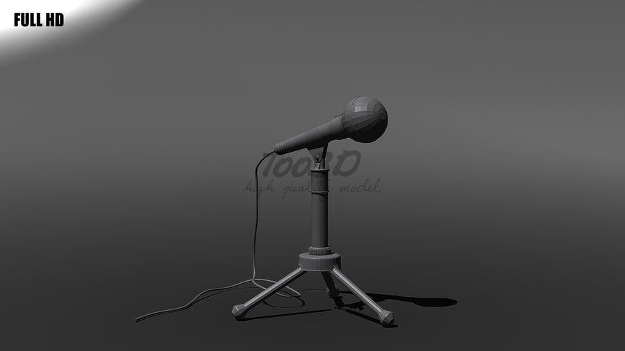 Mikrofon royalty-free 3d model - Preview no. 10
