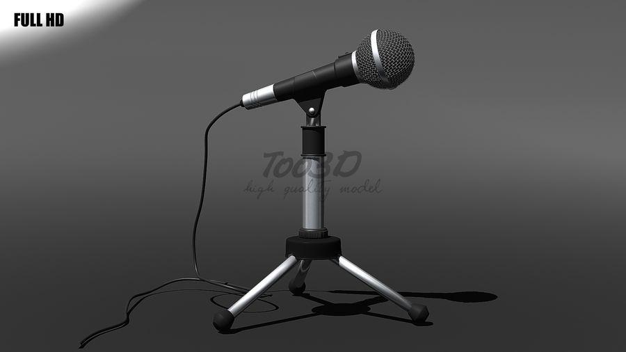 Mikrofon royalty-free 3d model - Preview no. 7