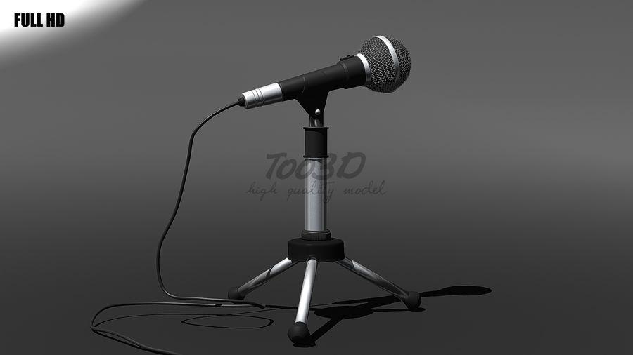 Mikrofon royalty-free 3d model - Preview no. 6