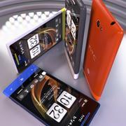 Kolekcja HTC Windows Phone 8S 3d model