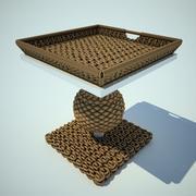 stół koralowy 3d model