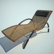 寝椅子 3d model