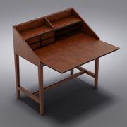 Crate and Barrel - Secrétaire Emerson 3d model