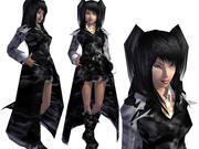 kız 3d model