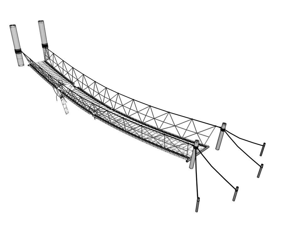 bridge royalty-free 3d model - Preview no. 11