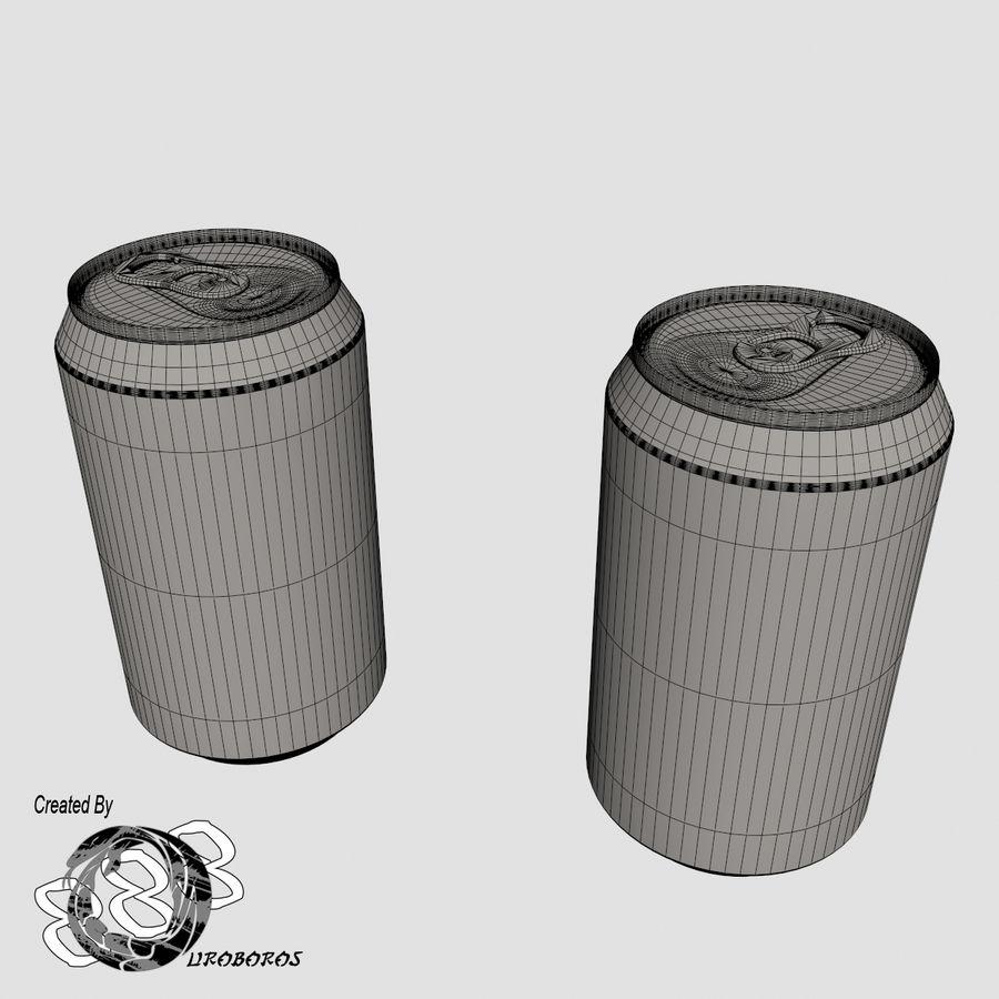 Boire des canettes royalty-free 3d model - Preview no. 9