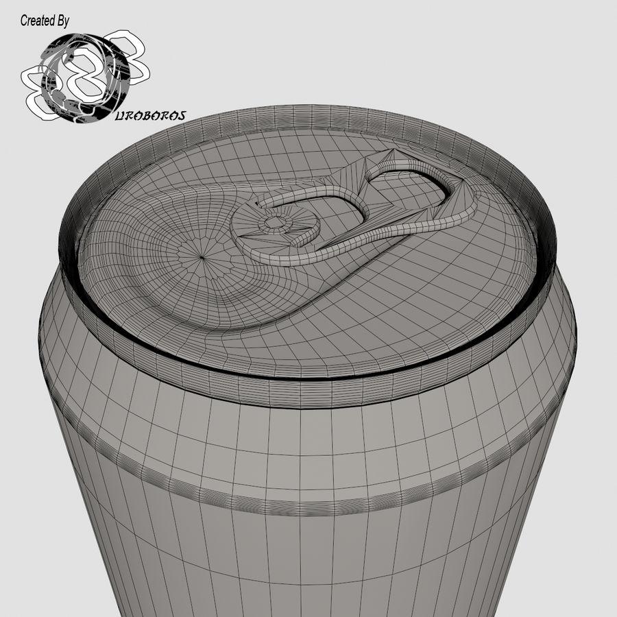 Boire des canettes royalty-free 3d model - Preview no. 10