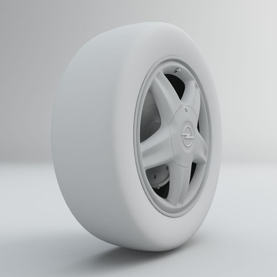 Koła royalty-free 3d model - Preview no. 3