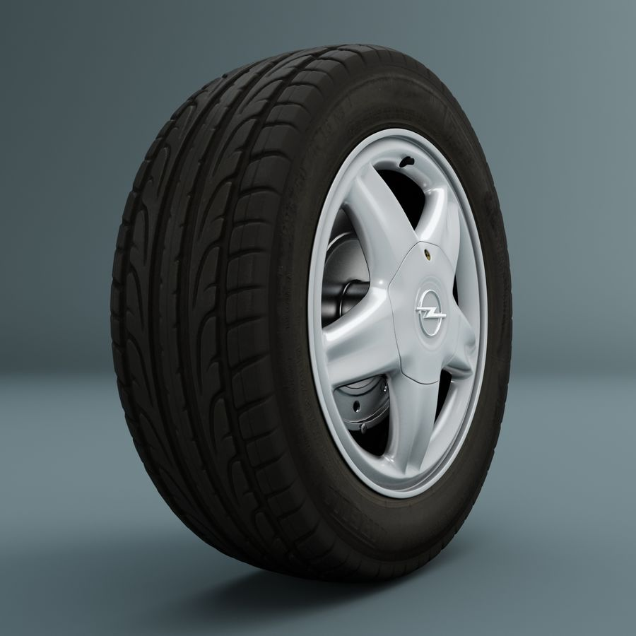 Räder royalty-free 3d model - Preview no. 1