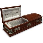 High Def Classic Coffin 3d model