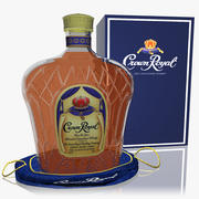 Crown Royal Whisky Set modelo 3d