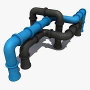 Sistemi di tubazioni per costruttori 2 3d model