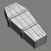 Coffin 3 Old 3d model