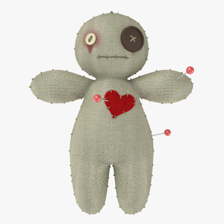 Voodoo Doll royalty-free 3d model - Preview no. 1