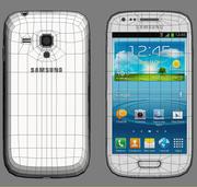 Samsung galax SIII mini I8190 3d model