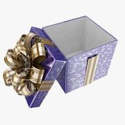 Pudełko na prezent_05 3d model