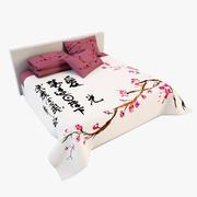 Bedcloth(22) 3d model