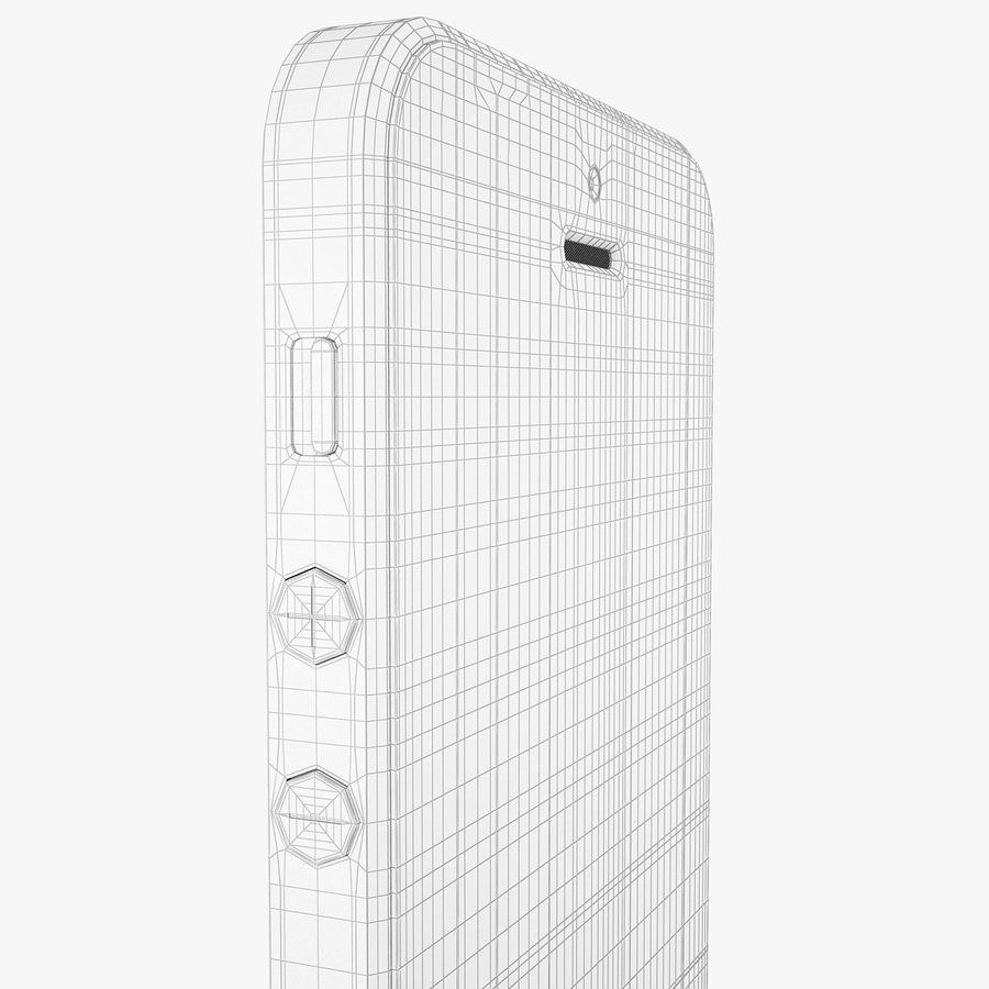 iphone 5 royalty-free 3d model - Preview no. 13