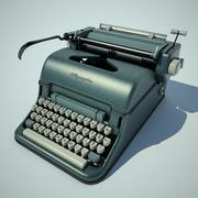 maszyna do pisania olympia 3d model