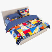 Bedcloth(11) 3d model