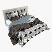 Bedcloth(16) 3d model