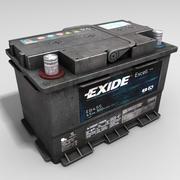 汽车电池 3d model