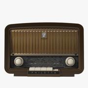 필레 타 빈티지 라디오 3d model